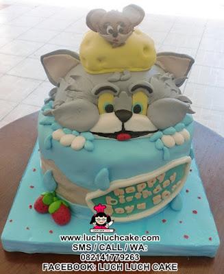 Kue Tart Tom and Jerry Daerah Surabaya - Sidoarjo (REPEAT ORDER)