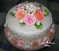 Hantaran - Fondant Cake