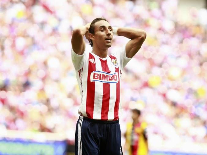 Arce, lleva dos tantos durante el torneo de Apertura 2014.