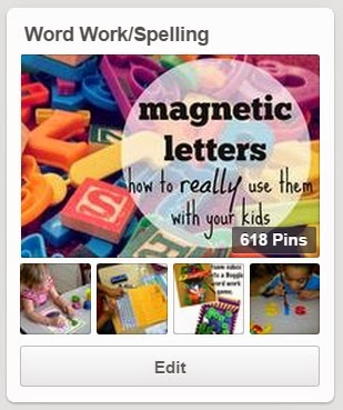 Word work/spelling