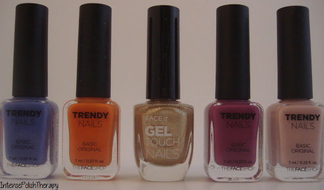 The Face Shop Polishes