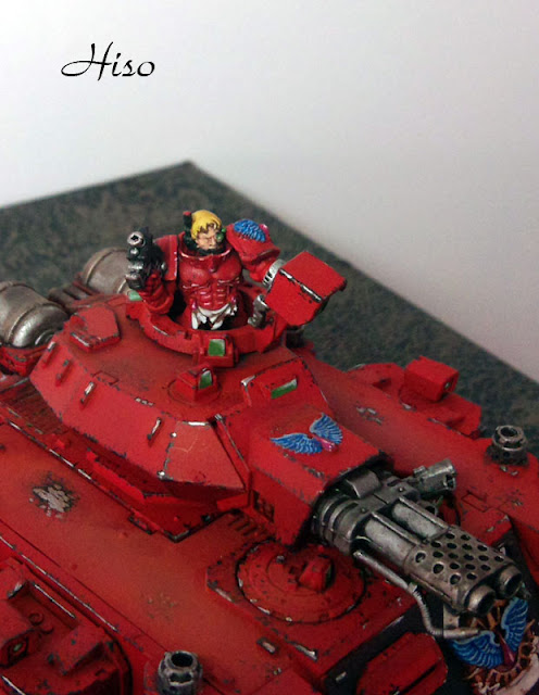 Predator Baal Blood Angels