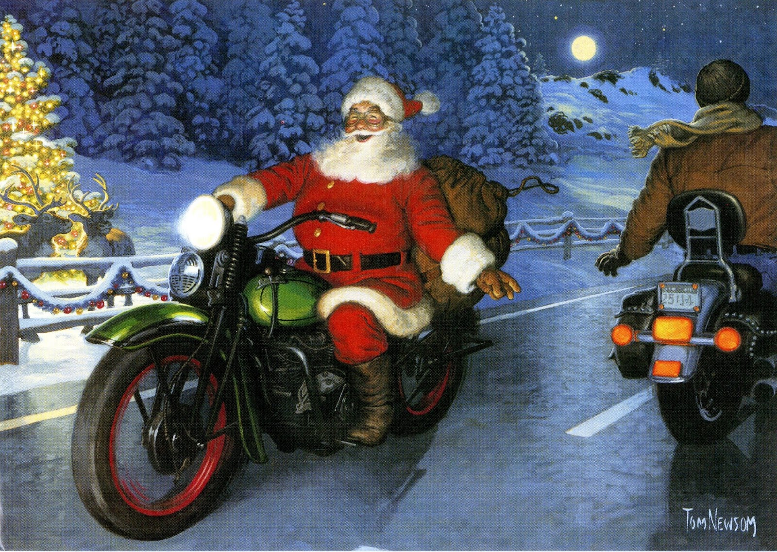 Cecilie s moto journal a christmas tale of santa s motorcycle boots