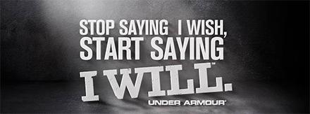 under armour slogan