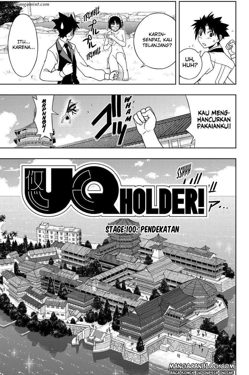 Komik uq holder 100 - pendekatan 101 Indonesia uq holder 100 - pendekatan Terbaru 2|Baca Manga Komik Indonesia
