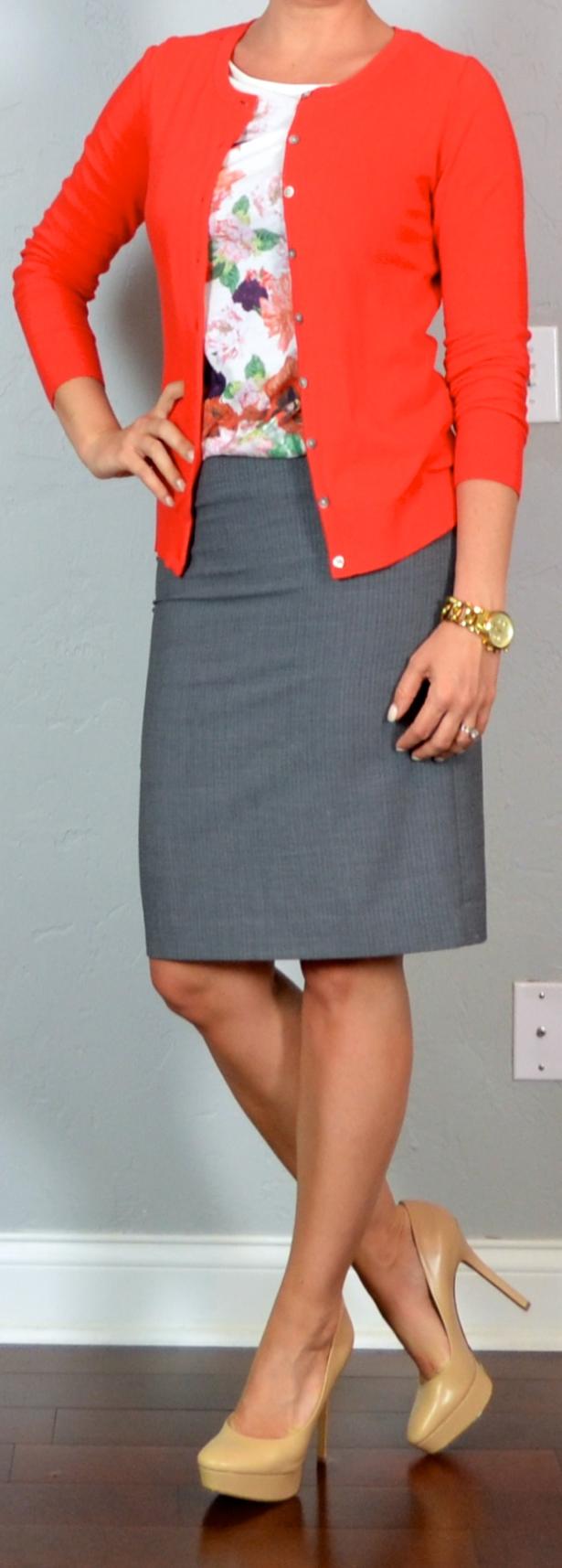 Cardigan And Skirt 69