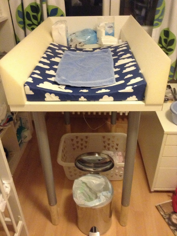 Changing table a la Vika Amon title=