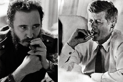 Fidel Castro cigar, John F Kennedy, American car in Cuba, coffee in cuba