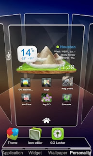 Next Launcher 3D APK [ Screen Shot]