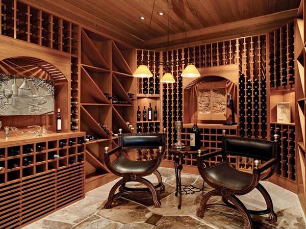 c mo almacenar los vinos ideas de dise o sorprendentes casas decoracion. Black Bedroom Furniture Sets. Home Design Ideas