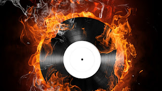 THE BURNING DISK