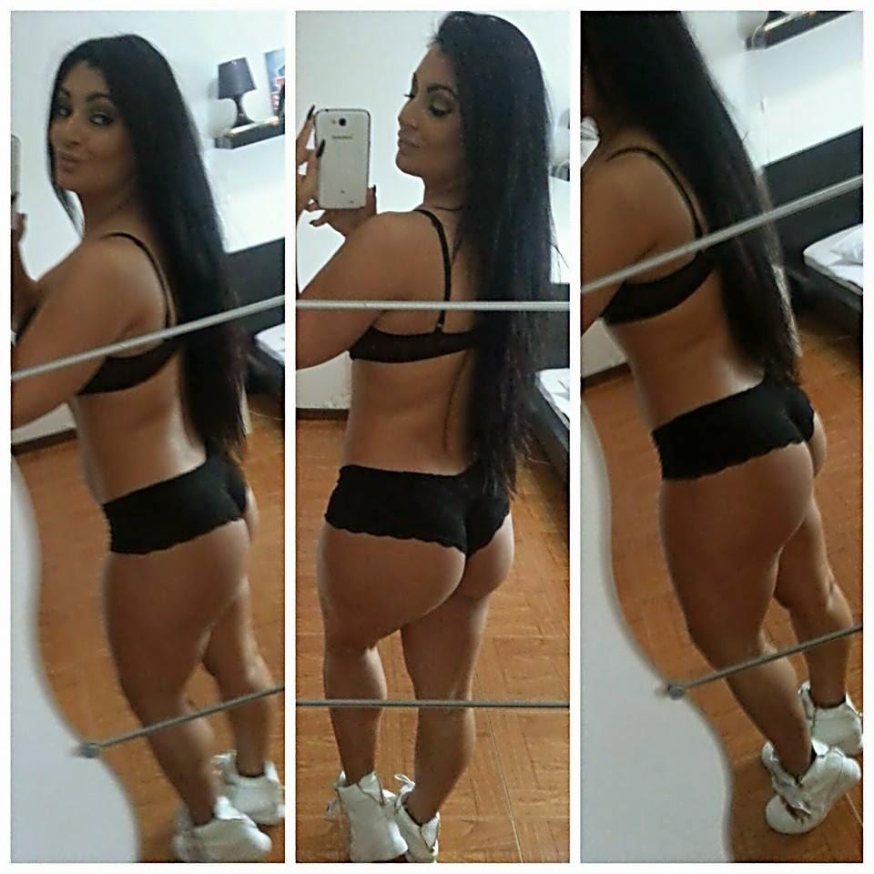 Alexandra Ferreira faz tratamento ao rabo e mostra no Faceboo