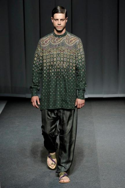 Etro Spring-Summer 2013 Menswear Photo 13