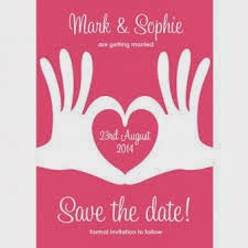 Buzz Invites Save the date wedding cards