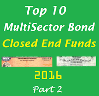 10 Best MultiSector Bond Closed End Funds for 2016: Part 2