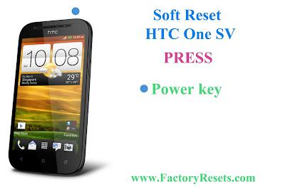 Soft Reset HTC One SV