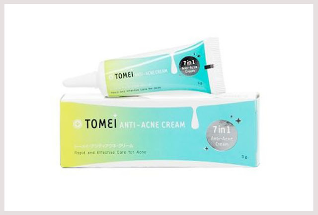ยาแต้มสิว Tomei anti acne cream