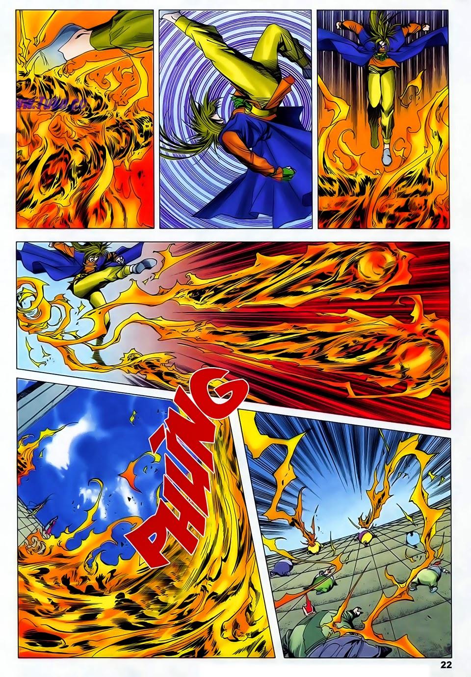 Lục Đạo Thiên Thư chap 37 - Trang 22