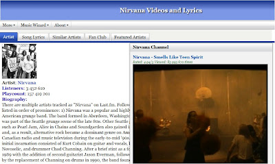 Music Videos Wizard screenshot