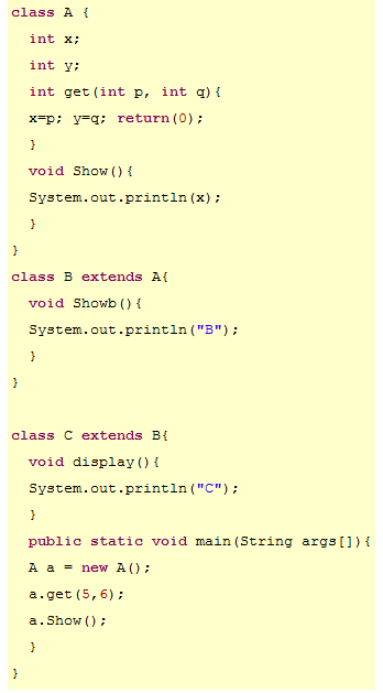 types of inheritance in c++ with simple example program pdf