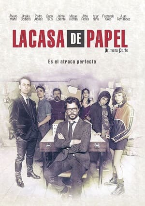 La casa de papel Séries Torrent Download capa