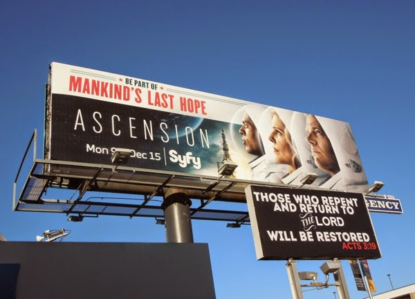 Ascension series premiere billboard
