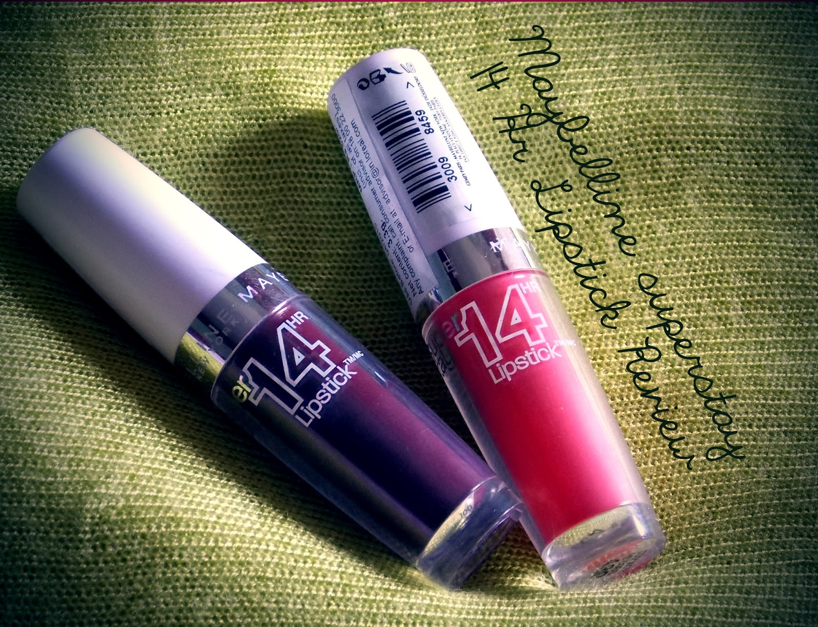 The Beauty and the Cheap: Maybelline Super Stay 14 Hr Lipstick Review!