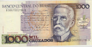 Ancient Money, Foreign Affairs, Money, Ancient, Collection, Worldwide, Coin, Currency, Auction, Paper, Collections, Sales, Price,1.000 Brazil