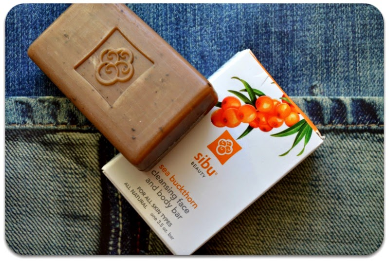 Sibu Beauty, Sea Buckthorn Cleansing Face and Body Bar