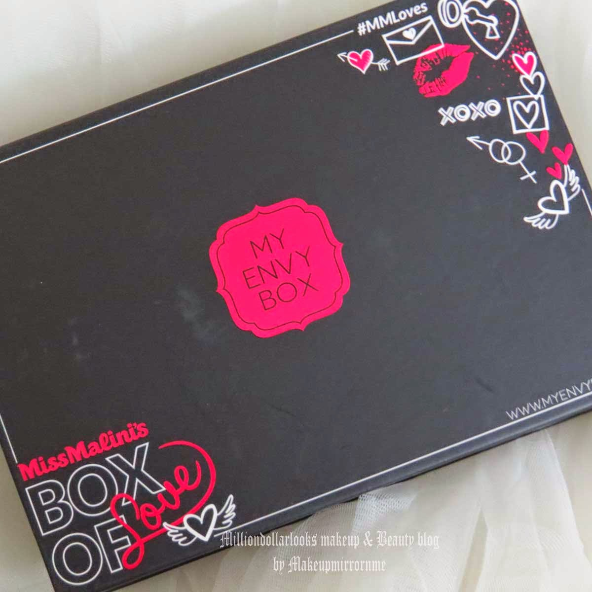 My Envy Box February Miss Malini's Once in a Valentine Box of Love Review, Price & Pictures, My envy box february 2015 review, My envy box special valentine edition review, Indian makeup and beauty blog, Miss malini once in a valentine box of love review, My envy box miss malini's box of love review, Indian beauty blog, Indian beauty blogger, Makeup and beauty blog india, Monthly beauty sample box services in India, Best beauty boxes available in India, Calvin Klein, Vana vidhi, Innisfree, Skin yoga, LYN, Top beauty blogs in India, MillionDollarLooks