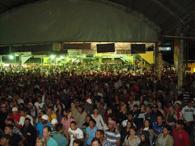 LUCAS E THIAGO E TANATÃ E LUÃ LEVAM PUBLICO RECORD EM FESTA DO MILHO EM TANQUINHO 27.000 PESSOAS