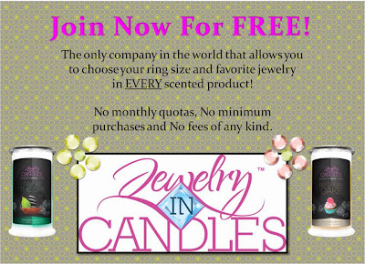 Jewelry in Candles Rep a Jewelry in Candles Rep