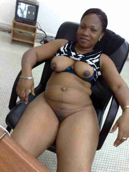 Nudist ghanaian lady a