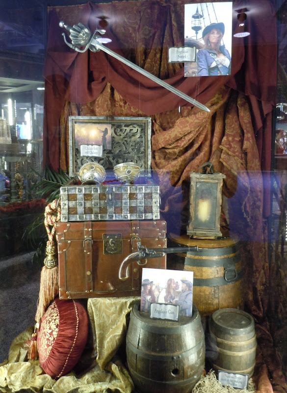 On Stranger Tides movie props