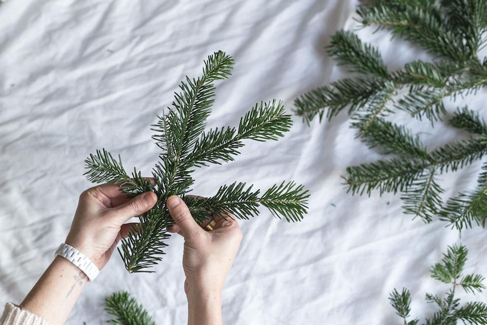 pino para decorar la casa en navidad