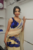 Sanjjana Latest Glam pics in saree-thumbnail-5
