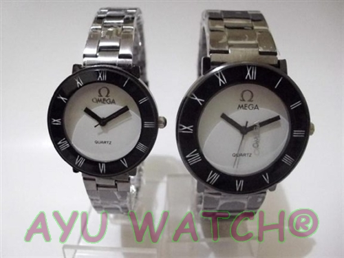 jam tangan couple omega jam tangan murah