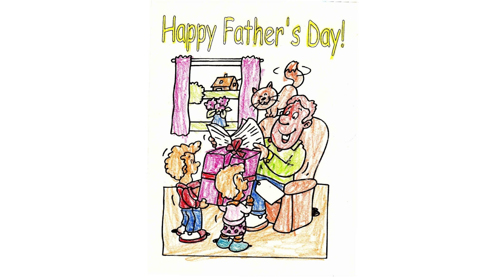 fathers day cartoon wallpapers cool christian wallpapers