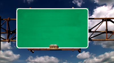 Highway Exit Sign Template Inside The Acto...