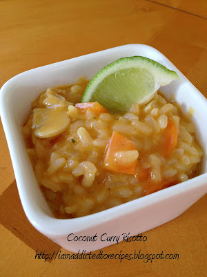 Coconut Curry Risotto | Addicted to Recipes