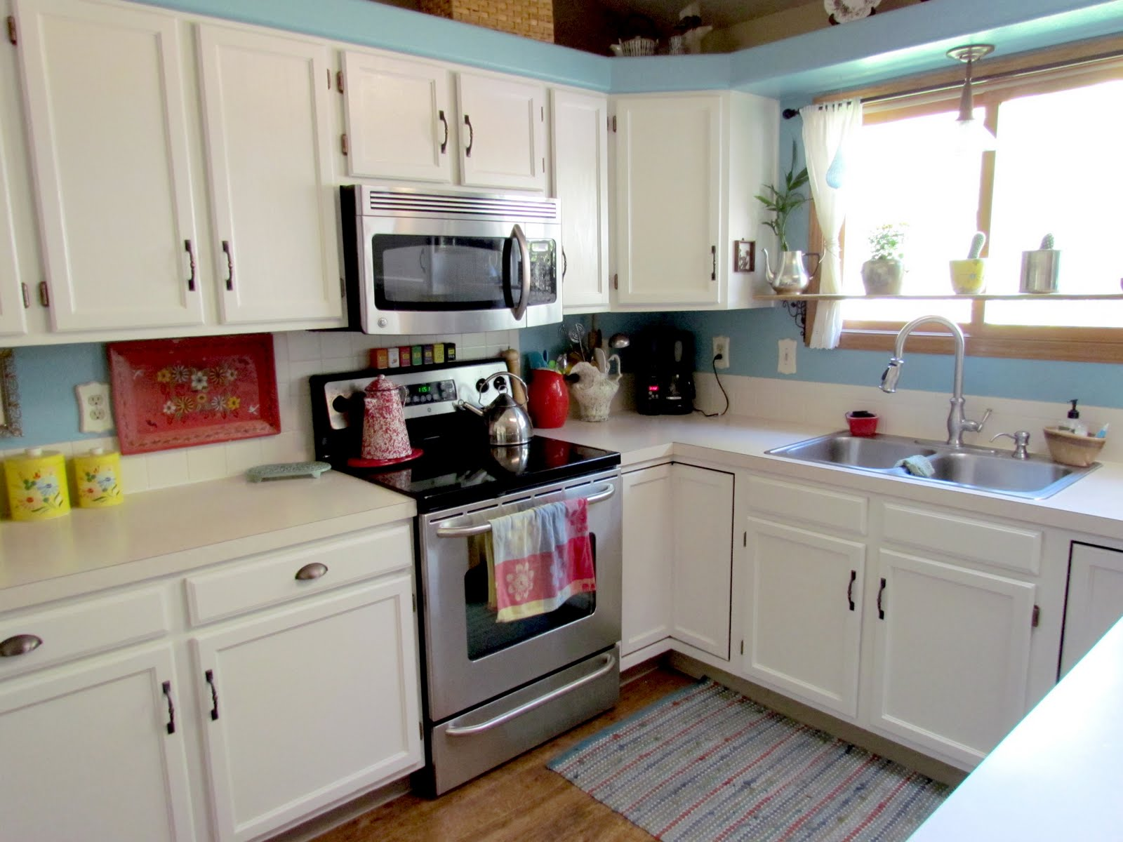 done i really do feel like i have a brand new kitchen it 39 s so much