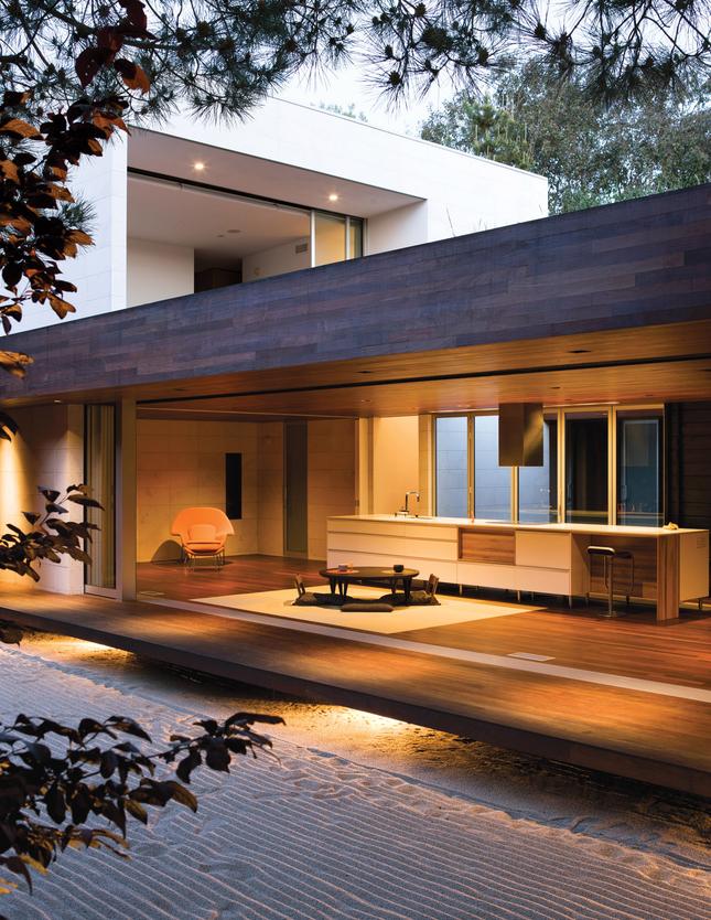die wohngalerie japanisch angehauchte baukunst in. Black Bedroom Furniture Sets. Home Design Ideas