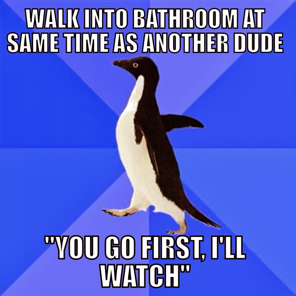 Walk into Bathroom