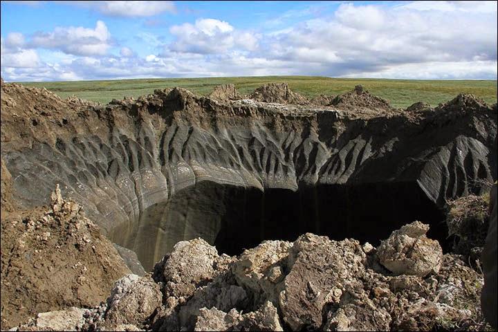 Kawah misteri Yamal, Siberia