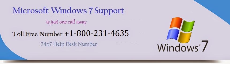 Windows 7 Help Desk - Call +1-800-231-4635