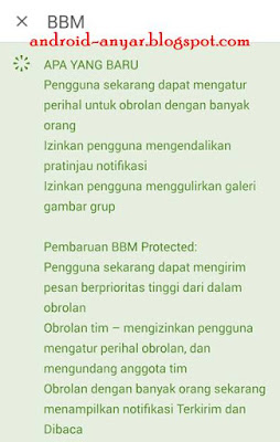 Baru BBM Android 2.12.0.9