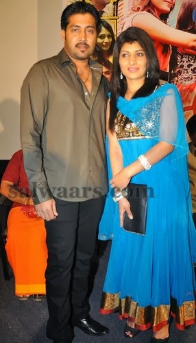 Hero Akash Wife Blue Salwar