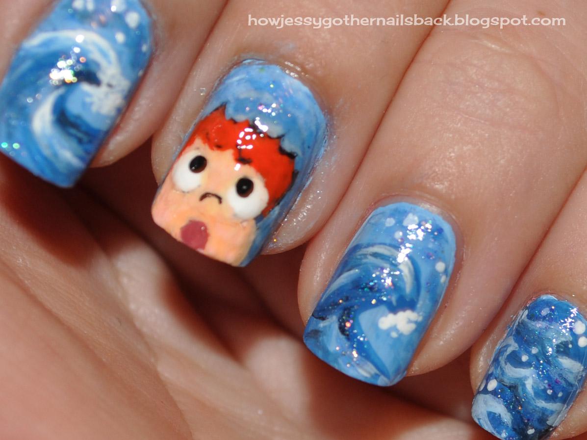 Ponyo! | How Jessy Got Her Nails Back