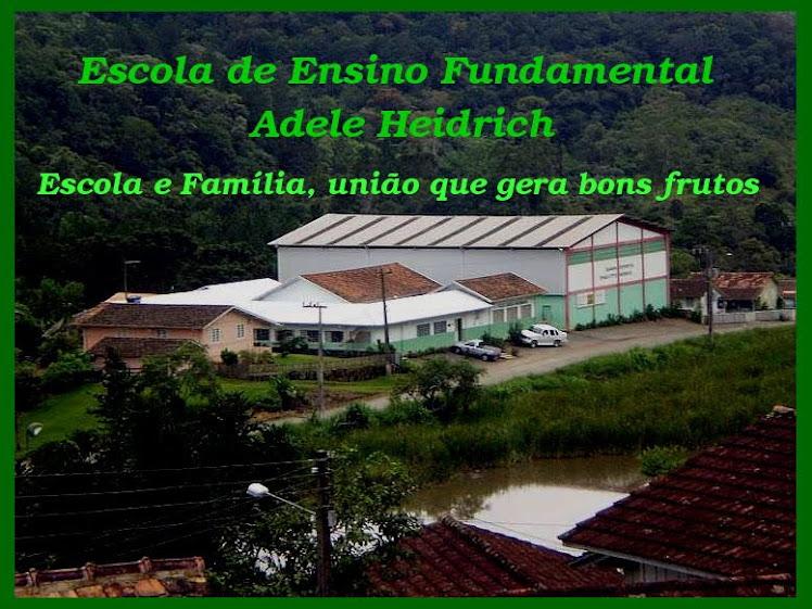 E E F  Adele Heidrich - Escola e Família, união que gera bons frutos