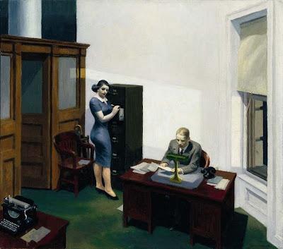 Edward Hopper - Office at night,1940